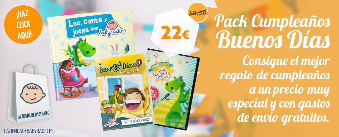 Pack Cumpleaños Buenos Días