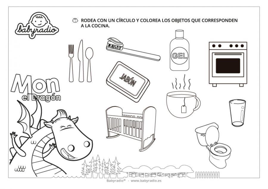 Distingue Los Objetos De La Cocina Babyradio