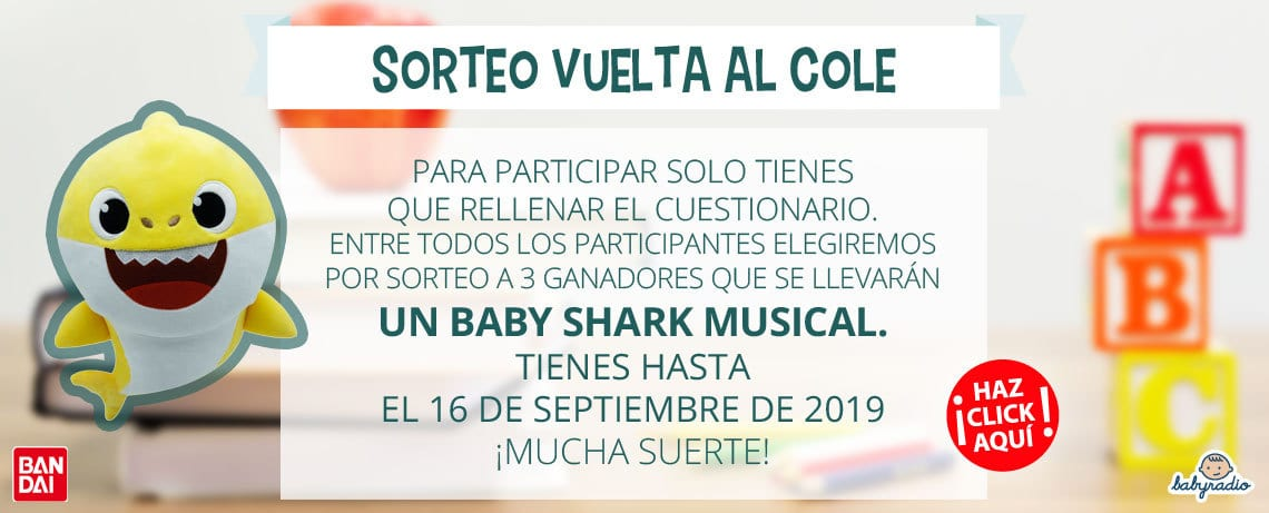Sorteo Baby Shark
